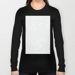 Dappled Grey and White Long Sleeve T-shirt