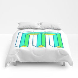 Letter M Comforters