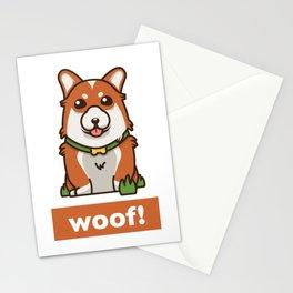 Cute Pembroke Cardigan Welsh Corgi Pet Dog Lover Stationery Cards
