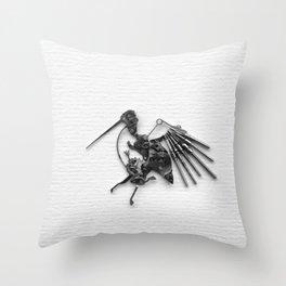Rad's Birds Throw Pillow