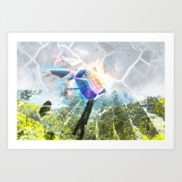 Breaking Out Art Print