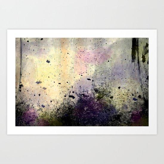 Abstract Mixed Media Design Art Print