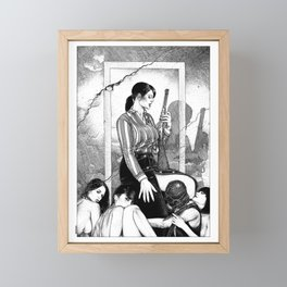 asc 890 - Les filles de la frontière (Wild wild women) Framed Mini Art Print