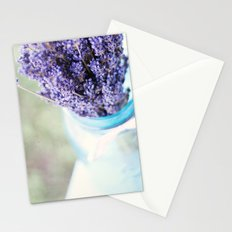 lavender bouquet Stationery Cards