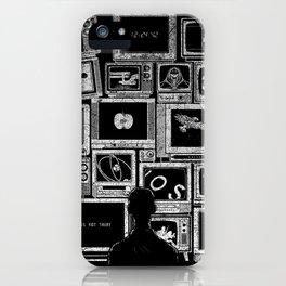 TV Addict iPhone Case