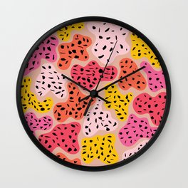Color Island Wall Clock