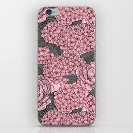 Floral bouquet in pink iPhone Skin