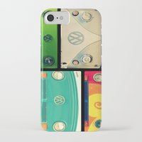 vw iPhone & iPod Cases featuring VW Collage by RDelean