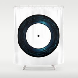 Seven Inch Vinyl Shower Curtain