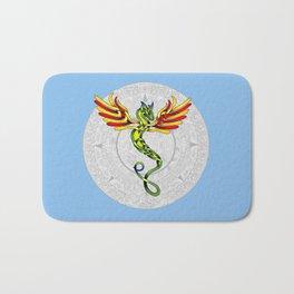Quetzalcoatl Knot Bath Mat