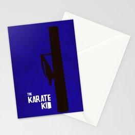 Minimalist Karate Kid Stationery Cards