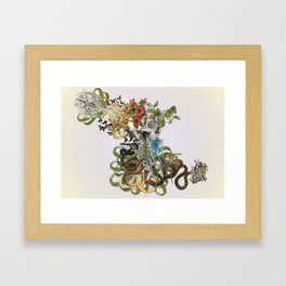 """""""expand"""" anatomical collage art by bedelgeuse Framed Art Print"""