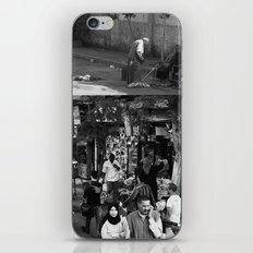 Street collage iPhone & iPod Skin