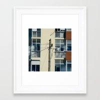 pigeon Framed Art Prints featuring Pigeon by Sébastien BOUVIER