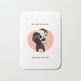 Reylo - You are not alone Bath Mat