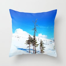 Still winter  (easter in Norway 2013) Throw Pillow