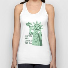 Liberty and Justice Unisex Tank Top