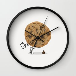 The Making of Chocolate Chips Wall Clock