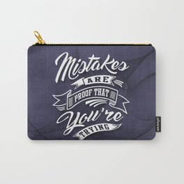 You're Trying - Inspirational Quotes. Carry-All Pouch