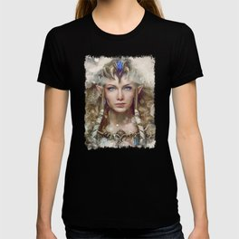 Epic Princess Zelda from Legend of Zelda Painting T-shirt