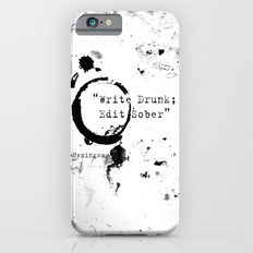 Hemingway Writing Quote Slim Case iPhone 6