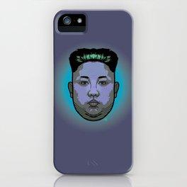 Kim Jong Un Dictator Do (series green1) iPhone Case