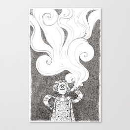Winter Smoke Canvas Print