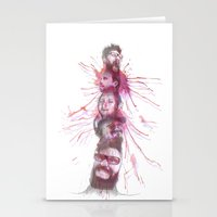 patriarchy Stationery Cards featuring Totem F00le by instantgaram
