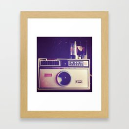 Kodak Instamatic 100 Framed Art Print