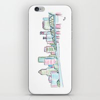 portland iPhone & iPod Skins featuring Portland by Ursula Rodgers