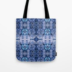Frozen floral, nature, woodland, hippie, mandala, psychedelic Tote Bag