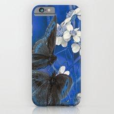 Butterflies in Blue Slim Case iPhone 6s