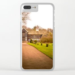 Country Home Goals Clear iPhone Case