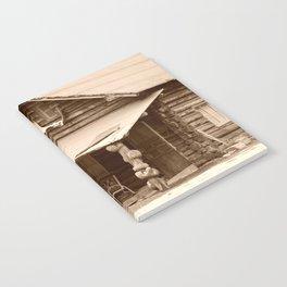 Old Log Cabin Notebook