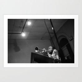 Jazz in Baltimore Art Print