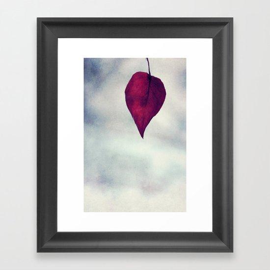 is gone.. Framed Art Print
