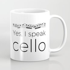 I speak cello Mug