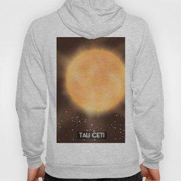 Tau Ceti space art poster. Hoody