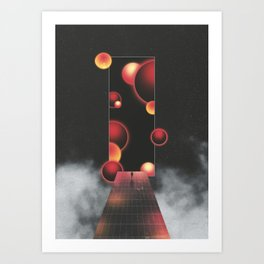 Void Vibes Only Art Print