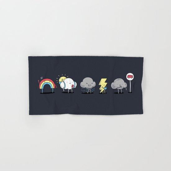 There's always rainbow after the rain Hand & Bath Towel