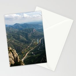 Valley Views from the Montserrat Mountains Stationery Cards