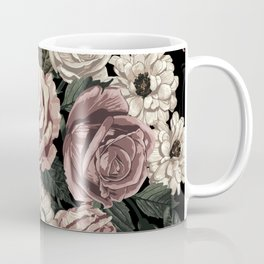 Rose Flower Pattern  Coffee Mug