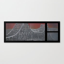 Steel and Streams Canvas Print