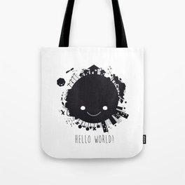 Hello, world! Tote Bag
