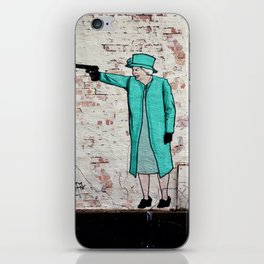 Street Art London Queen Thug Urban Wall Graffiti Artist Prolifik iPhone Skin