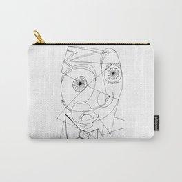 Joan Miro Self-Portrait Artwork For Prints Posters Tshirts Bags Women Men Kids Carry-All Pouch