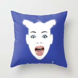Glowing - Siobhan Throw Pillow