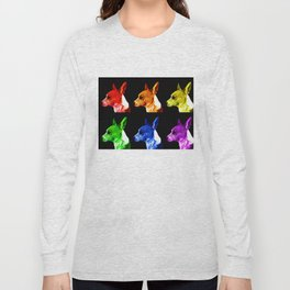 Rainbow Dogs Long Sleeve T-shirt