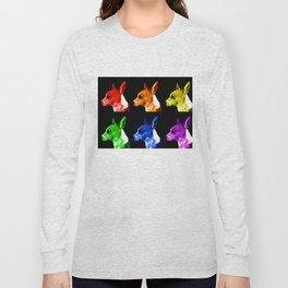 Rainbow Dogs Long Sleeve T-shirt