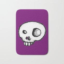 Purple King of Skulls Bath Mat
